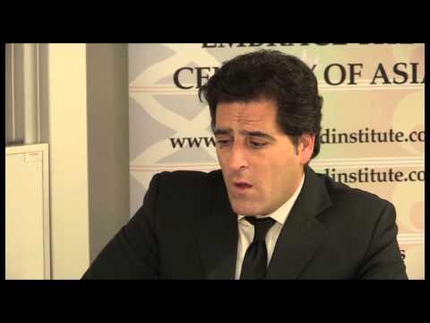 Asia Scotland Institute Marco Vicenzino Interview