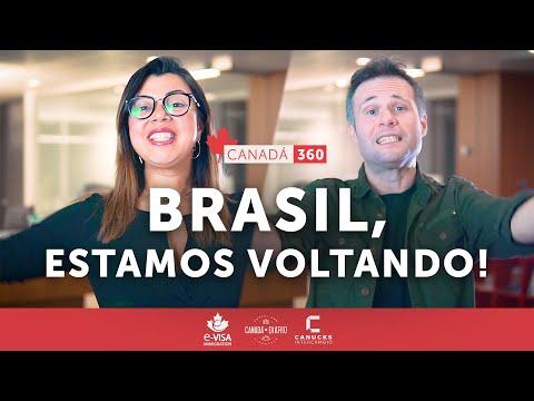 Trabalhe, estude e viva o Canadá! Canadá 360 - Brasil, estamos voltando 🇧🇷🇨🇦