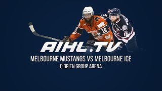 Melbourne Ice @ Melbourne Mustangs (29/06/2018)