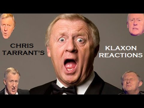 Who Wants To Be A Millionaire - Chris Tarrant's Klaxon Reactions