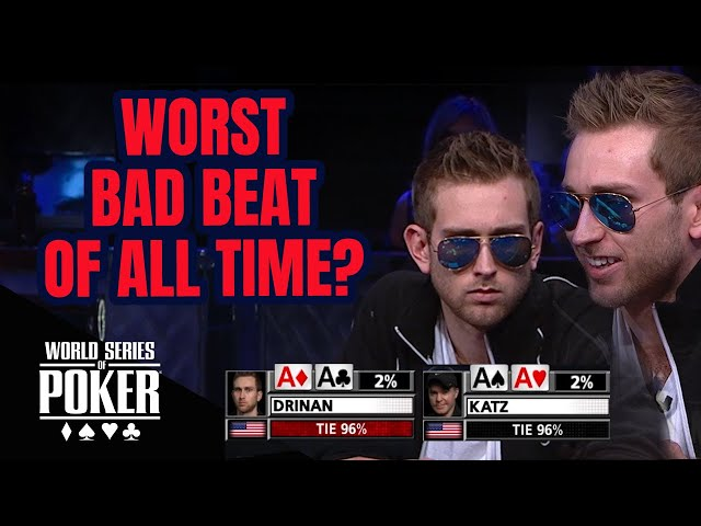 Aces vs Aces Connor Drinan vs Cary Katz | $1,000,000 WSOP Big One for One Drop