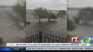 Floods hit New Bern hard as Hurricane Florence makes its way toward NC