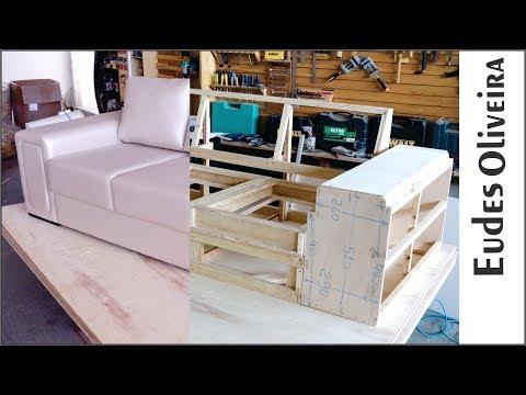 Construindo um sofá de três assentos