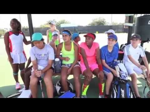 USTA Florida Diversity Camps - YouTube