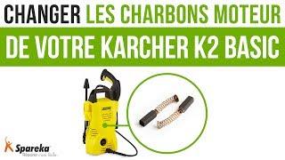 Comment changer les charbons moteurs de votre Karcher K2 Basic ?