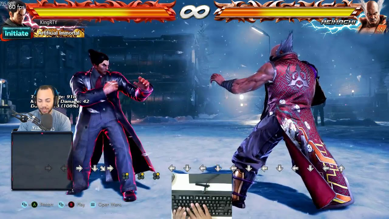 Tekken 7 How To Do Ewgf On Keyboard Hitbox Consistently Youtube