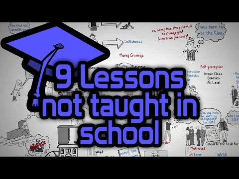 9 Lessons you didn't learn in School – Best Lessons from Self Improvement Books