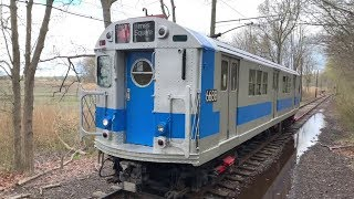 Shore Line Trolley Museum NYC Subway R17 6688 on Member's Day (4/27/19)