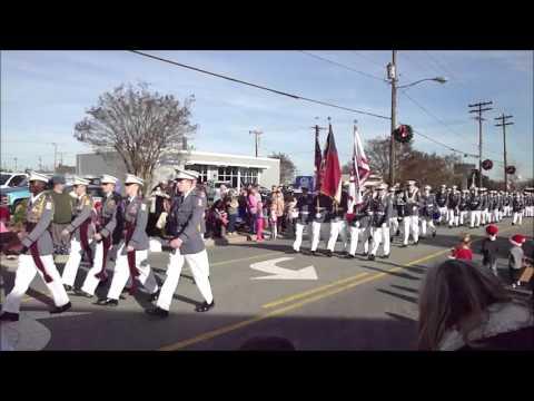 Kernersville Christmas Parade 2015  -  Oak Ridge Military Academy