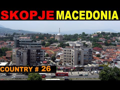 A Tourist's Guide to Skopje, Macedonia