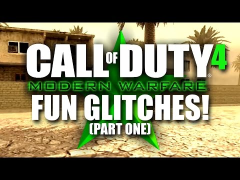 COD4/MW Remastered GLITCHES, SECRET ROOMS AND SPOTS! - Part 1 - Ambush, Backlot, Bloc, Bog