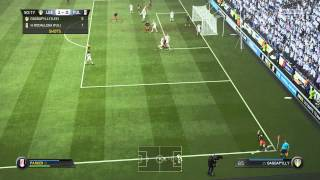 Fifa 15 Gameplay - 1080p 60FPS - Become A Pro #2 Hat Trick Baby!