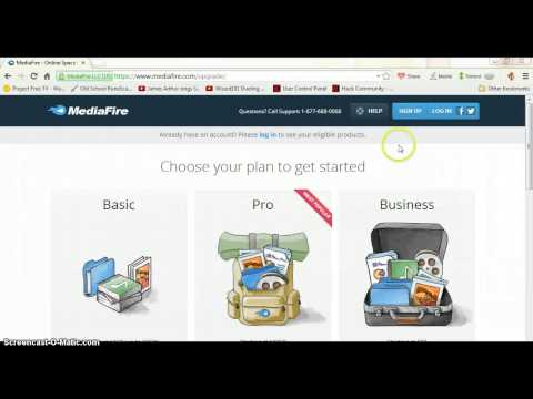 How to make a Mediafire download!
