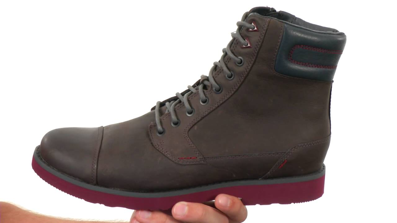 c9c712f7e964 Teva Durban Tall Leather SKU 8533511 - YouTube