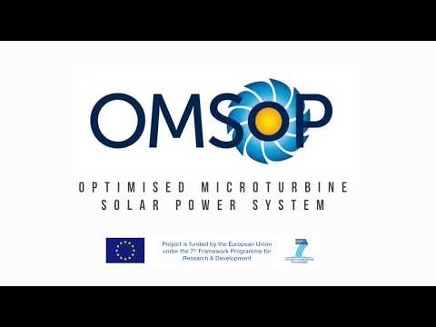 The Optimised Microturbine Solar Power system (OMSoP) project
