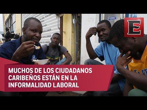 Haitianos en Tijuana ya tramitan su estadía legal en México