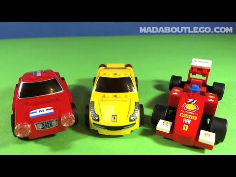 Lego Shell Ferrari Racers Youtube