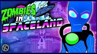 Infinite Warfare Zombies   Spaceland Funny Moments - Alien Boss Battle!
