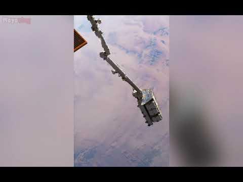 Arrojan por la borda 2.9 toneladas de basura espacial. Permanecerá en órbita durante años