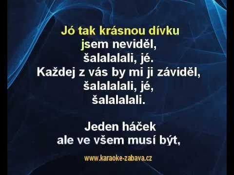 Šalalalali - Václav Neckář Karaoke tip