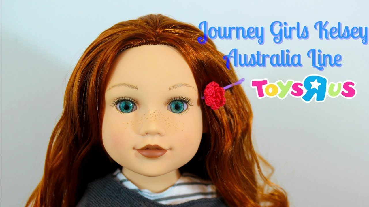 0f1f0838e78 Doll Review #11: Journey Girl Kelsey - Australia Line 2017 - YouTube