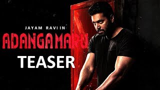 Adanga Maru Official Teaser Releasing Today | Jayam Ravi Raashi Khanna | Sam CS | Karthik Thangavel