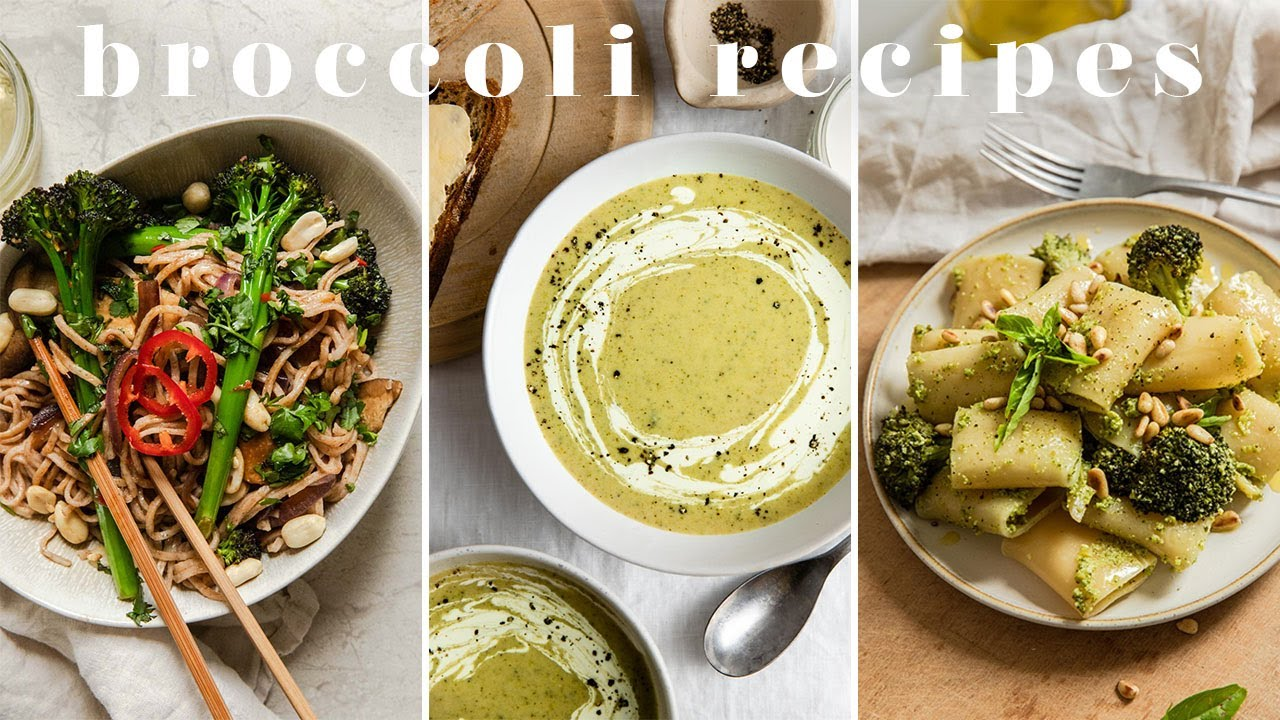 HOW TO MAKE VEG TASTE GOOD | 3 Easy & Delicious Broccoli Recipes