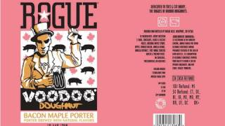 Rogue Voodoo Doughnut Maple Bacon Ale | Beer Geek Nation Beer Reviews Episode 255