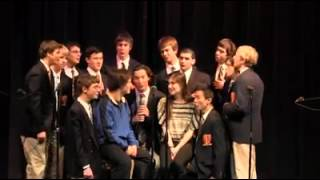 Kiss The Girl (Acapella) - The Wayland High School Testostertones
