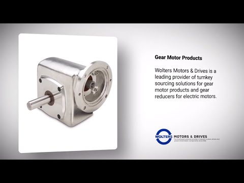 Gear Products from Wolters Motors & Drives #GearMotors #Reducers #Drives #ElectricMotors