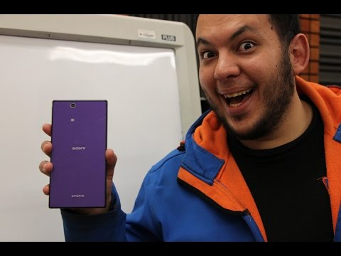 Two and half years later: Exclusively: Black & Purple Sony Xperia Z Ultra