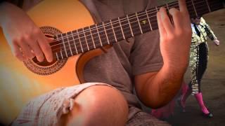 Испанский танец (вступление)(Курс игры на гитаре: http://www.guetarist.ru/kurs.html Гитары Crafter: http://bit.ly/1OPIGaO Вы можете отблагодарить за разборы небольш..., 2014-04-17T21:11:47.000Z)