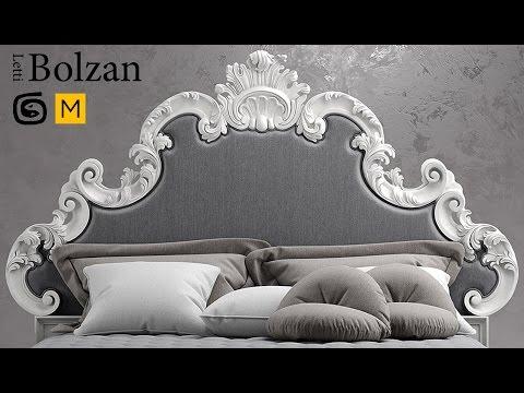 моделирование кровати в 3d max и marvelous designer