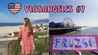 Santa Monica és a nagy utazás - VLOSANGELES #7 | Viszkok Fruzsi