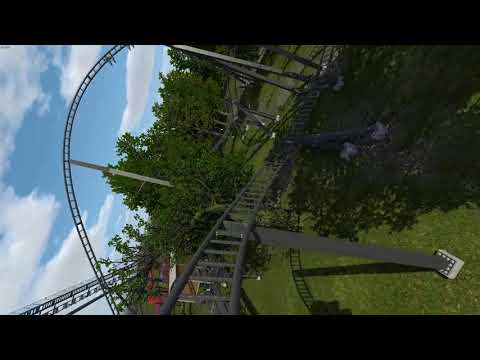 Th13teen 2 - Redesign of Alton Towers Coaster in No Limits 2 - Unfinished
