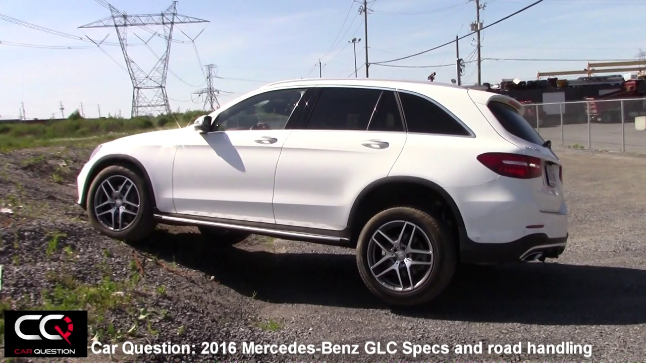 2016 2017 mercedes benz glc specs and road handling the most complete review part 3 8. Black Bedroom Furniture Sets. Home Design Ideas