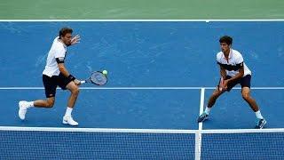 Tennis - Les plus beaux points de doubles