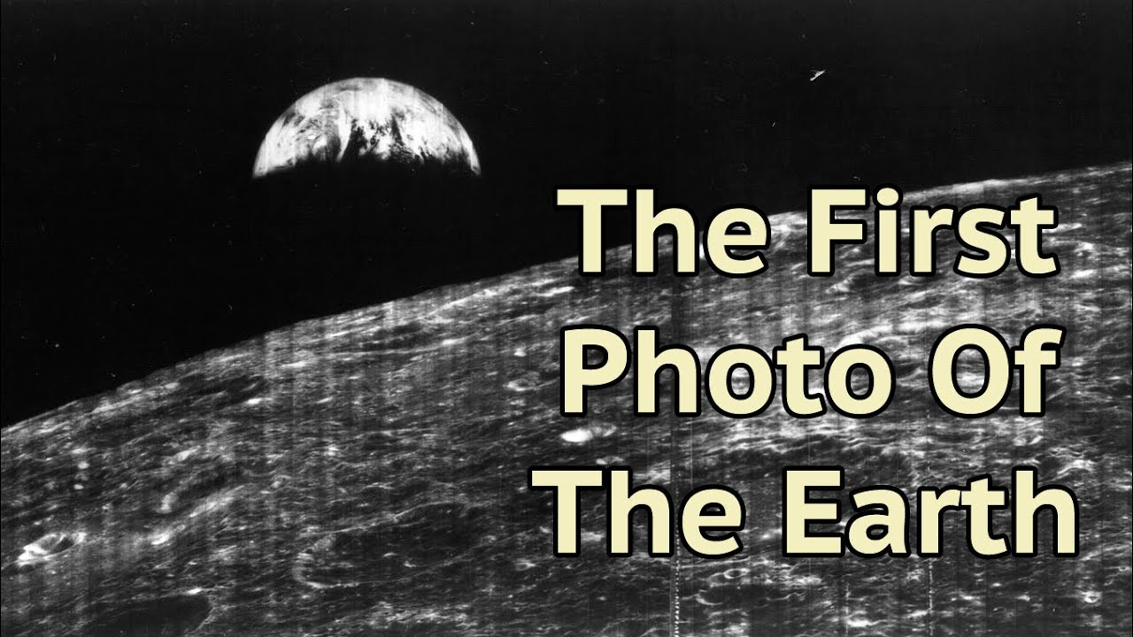 On This Day - 23rd August 1966 The First Photo Of The ... First Photograph Date