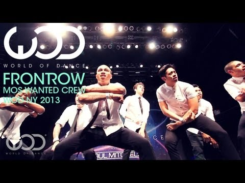 Mos Wanted Crew | World of Dance | FRONTROW | #WODNY 2013