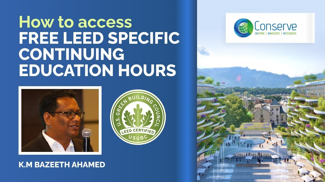 How To Earn Free Leed Specific Ce Hrs Update Yourself On Leed V4