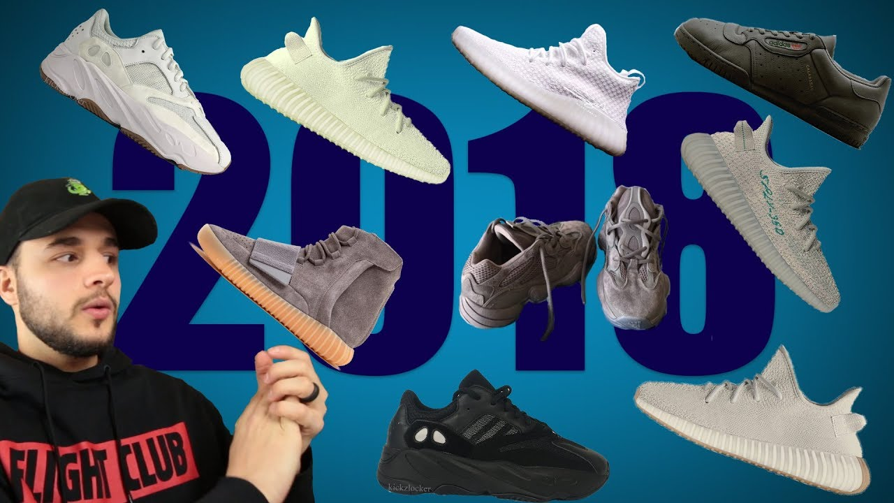 9df44b160 2018 YEEZY Releases! - YouTube