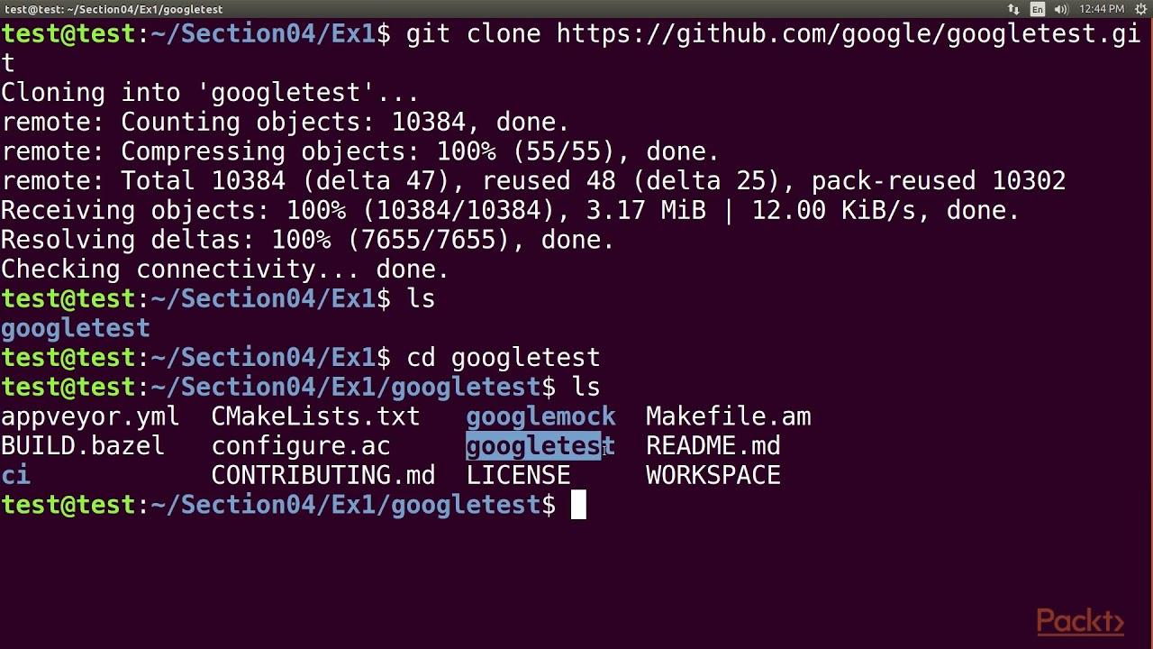 High Performance Applications with C++: Google Test Framework | packtpub com