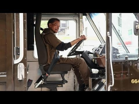 how to become a ups truck driver