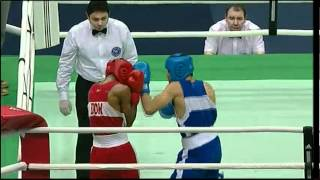 Light (60kg) SF - Arias (DOM) vs Ramirez (USA) - 2012 American Olympic Qualifying Event