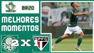 Palmeiras 2 x 1 São Paulo | Brasileirão sub-20 | HD 25/10/2020