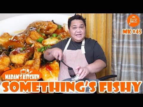 FISH FILLET W/ TOFU In Tausi Sauce | MADAM'S KITCHEN #45