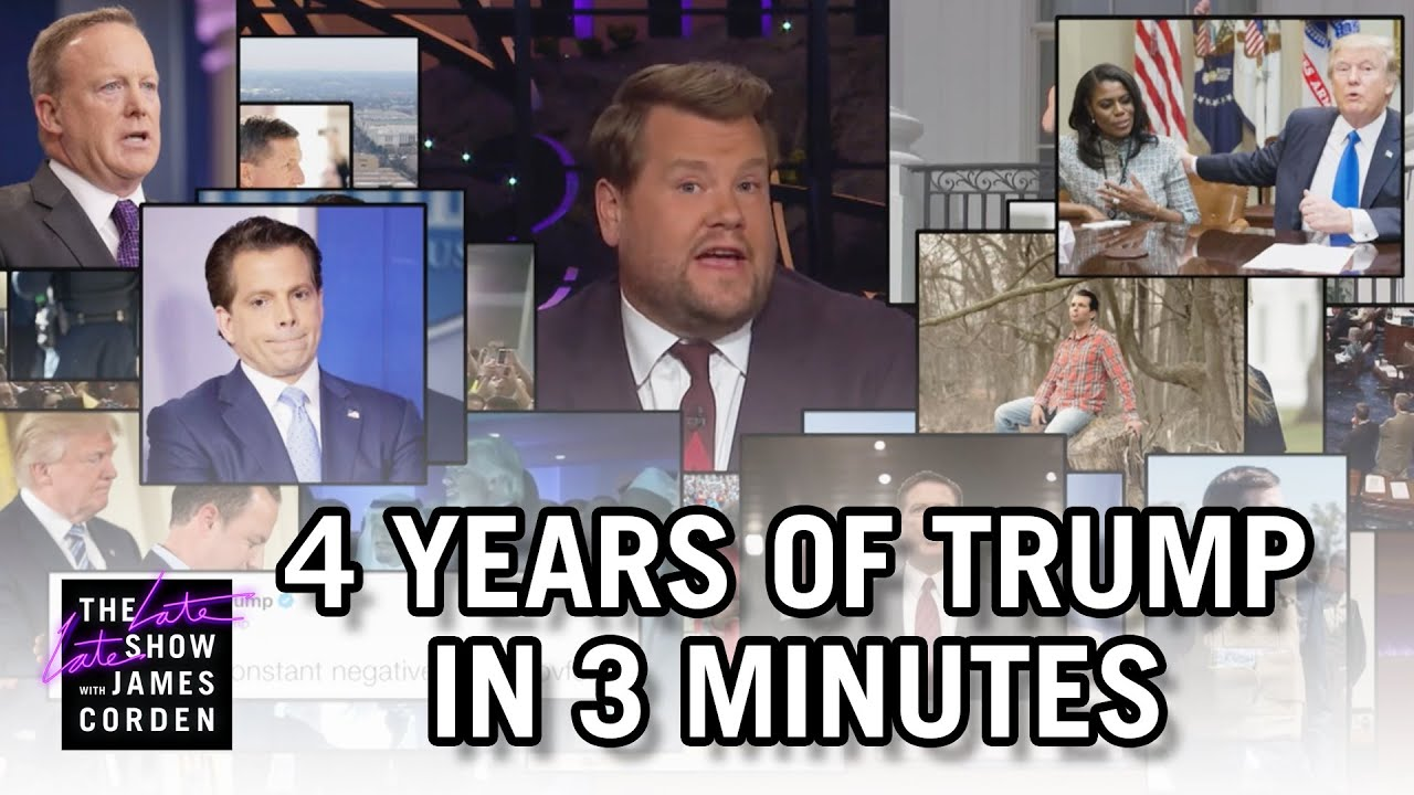 4 Years of Trump in 3 Minutes