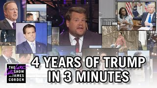 4 Years of Donald Trump In 3 Minutes
