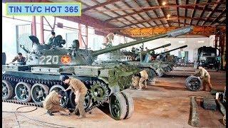 Nga Trung Quốc bất ngờ hoảng hốt vì Việt Nam nâng cấp xe tăng T54 55 mạnh như T90