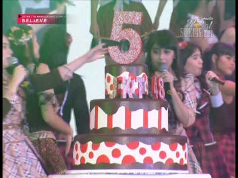 [1080p] JKT48 - Namida Surprise @ JKT48 5th Anniversary Concert BELIEVE - RTV